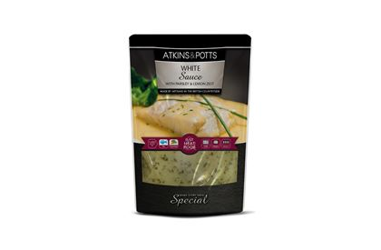 Atkins & Potts White Sauce with Parsley & Lemon Zest