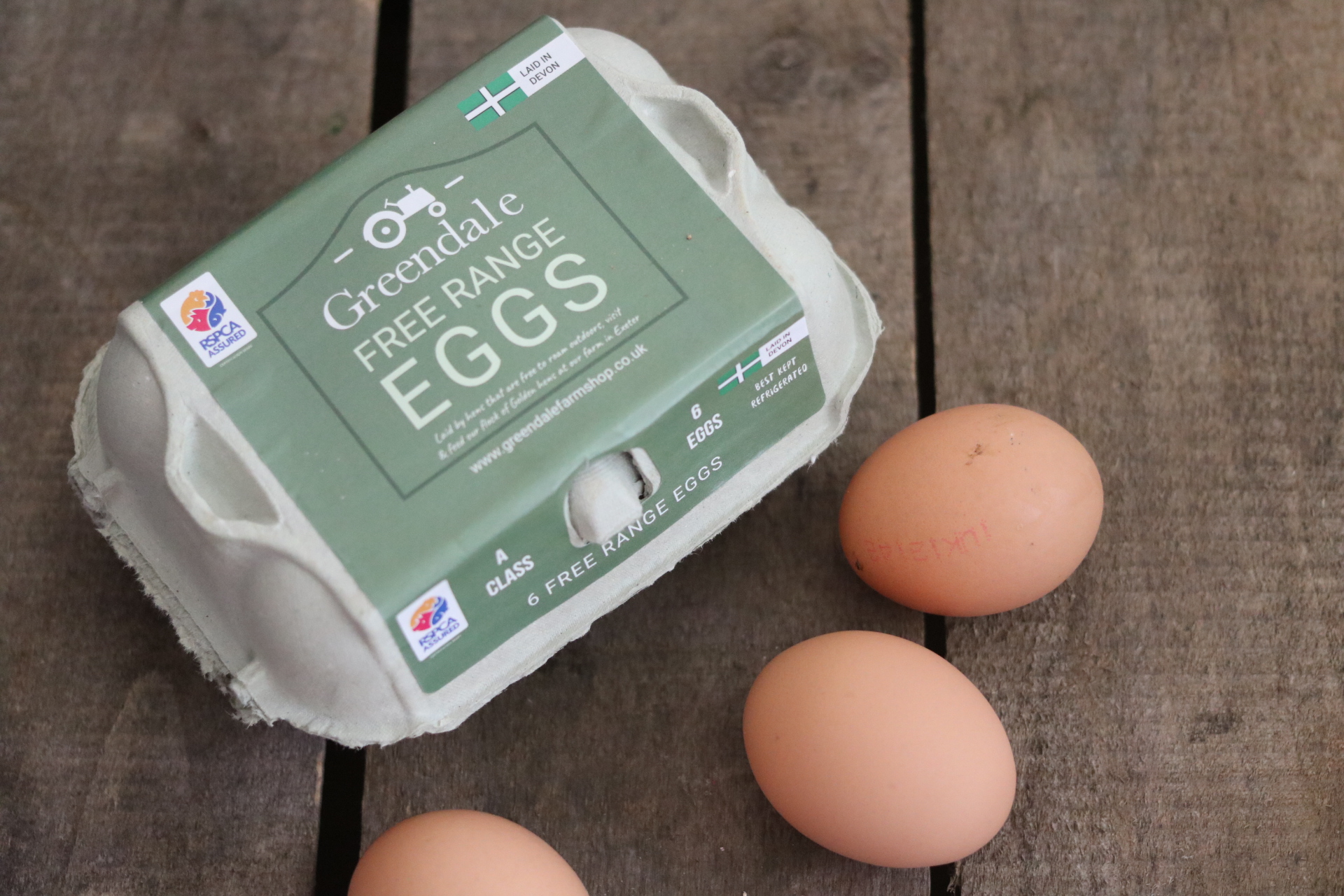 Greendale Free Range Eggs Medium