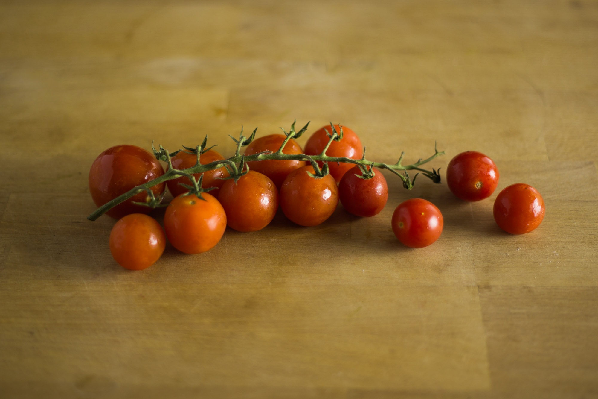 Cherry Tomatoes On-the-Vine