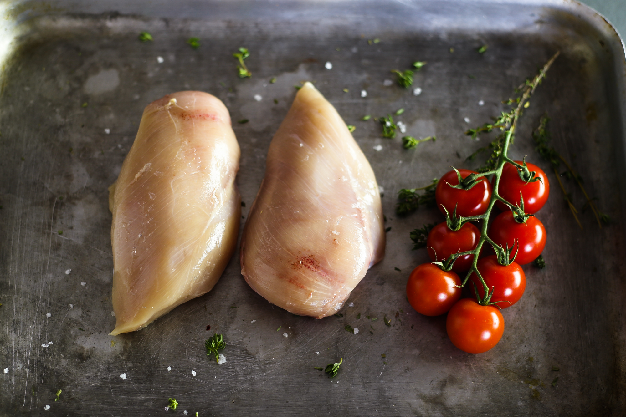 Free range chicken breast fillets x 2