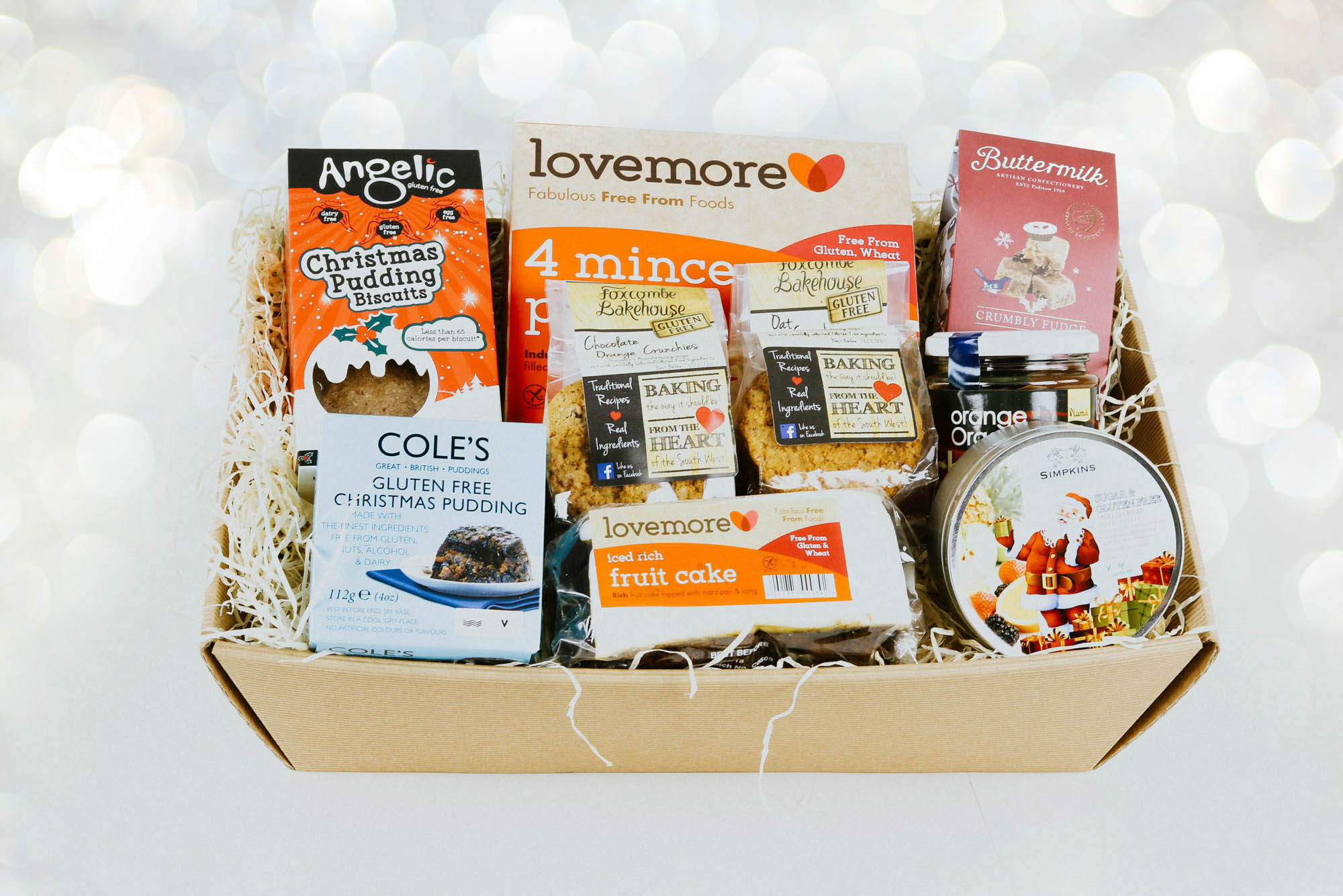 Greendales devon hampers greendale farm shop gluten free christmas hamper negle Images