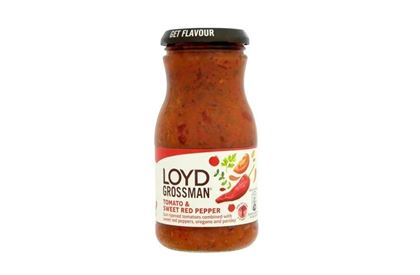 Loyd Grossman's Tomato & Sweet Red Pepper Pasta Sauce -350g
