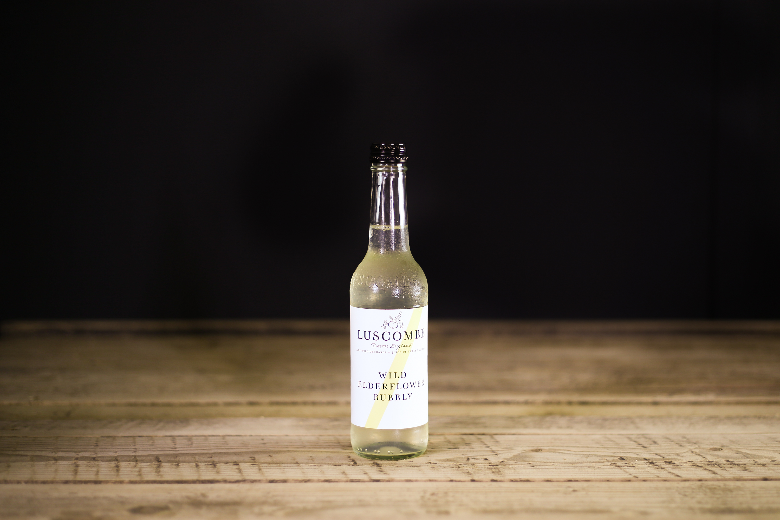 Luscombe Organic Wild Elderflower Bubbly 32cl
