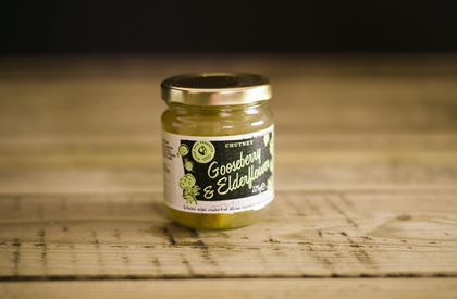 Ottervale Gooseberry & Elderflower Chutney