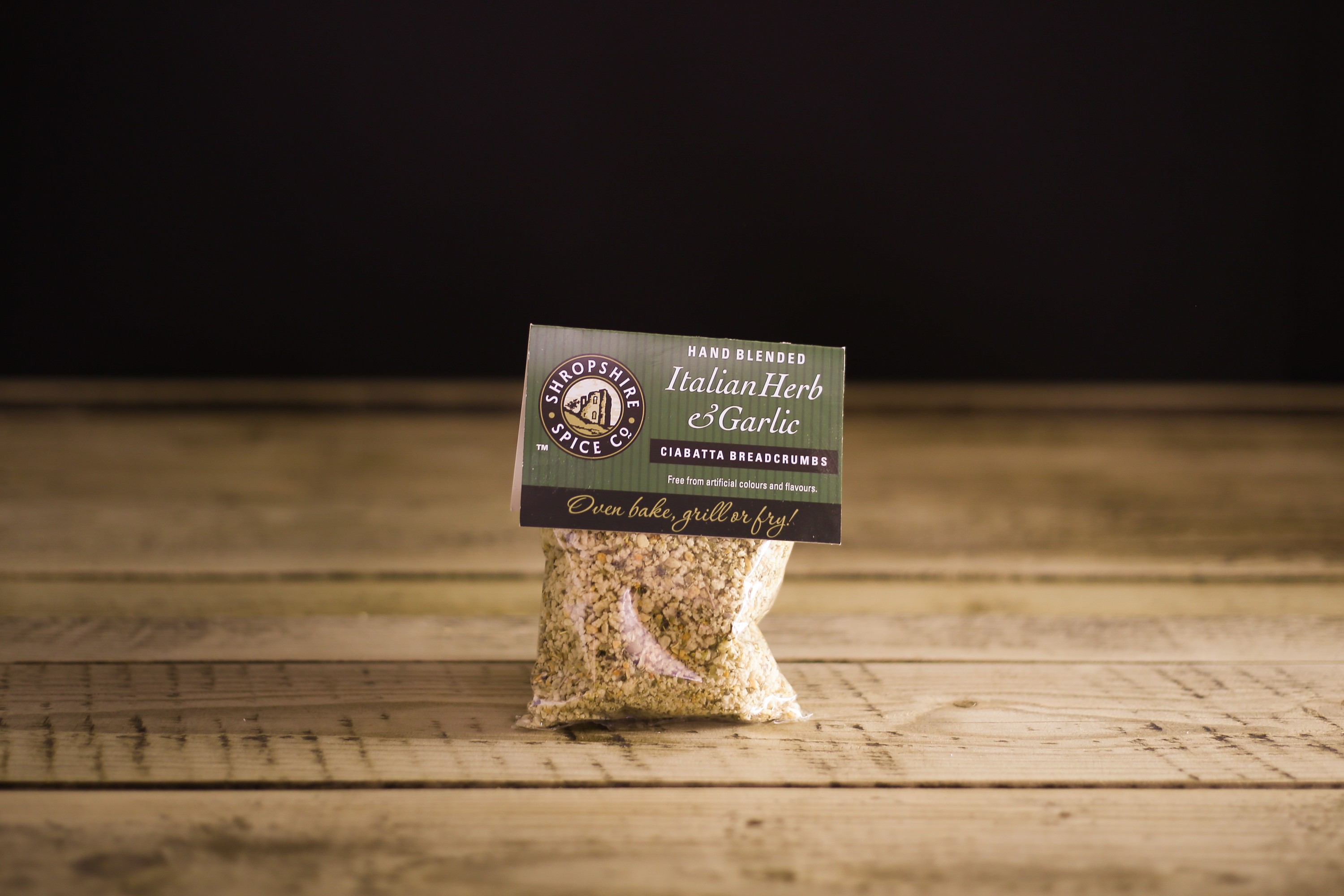 Shropshire Spice Co Italian Herb and Garlic Ciabatta Breadcrumbs
