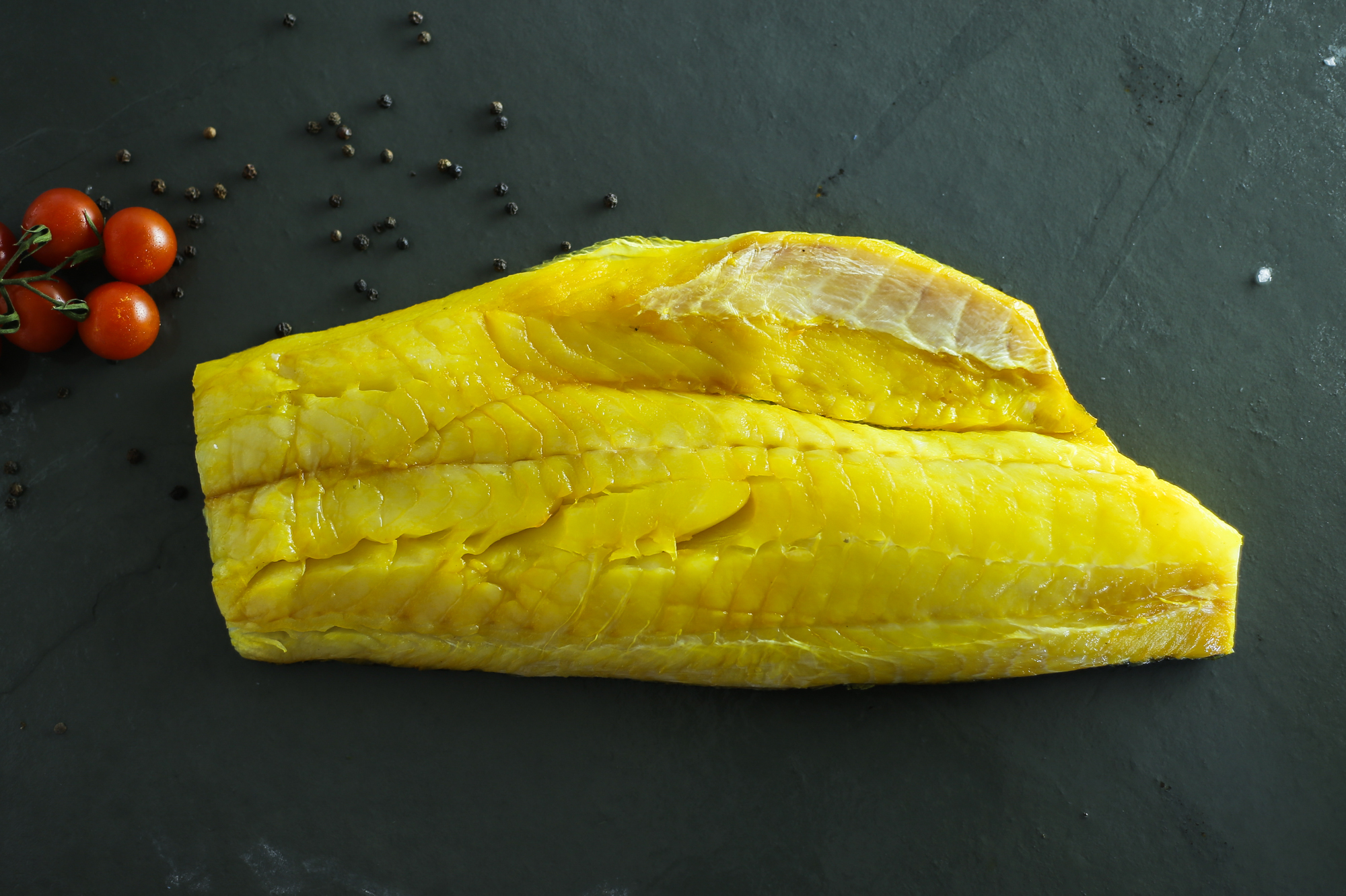 Yellow smoked haddock (500g)