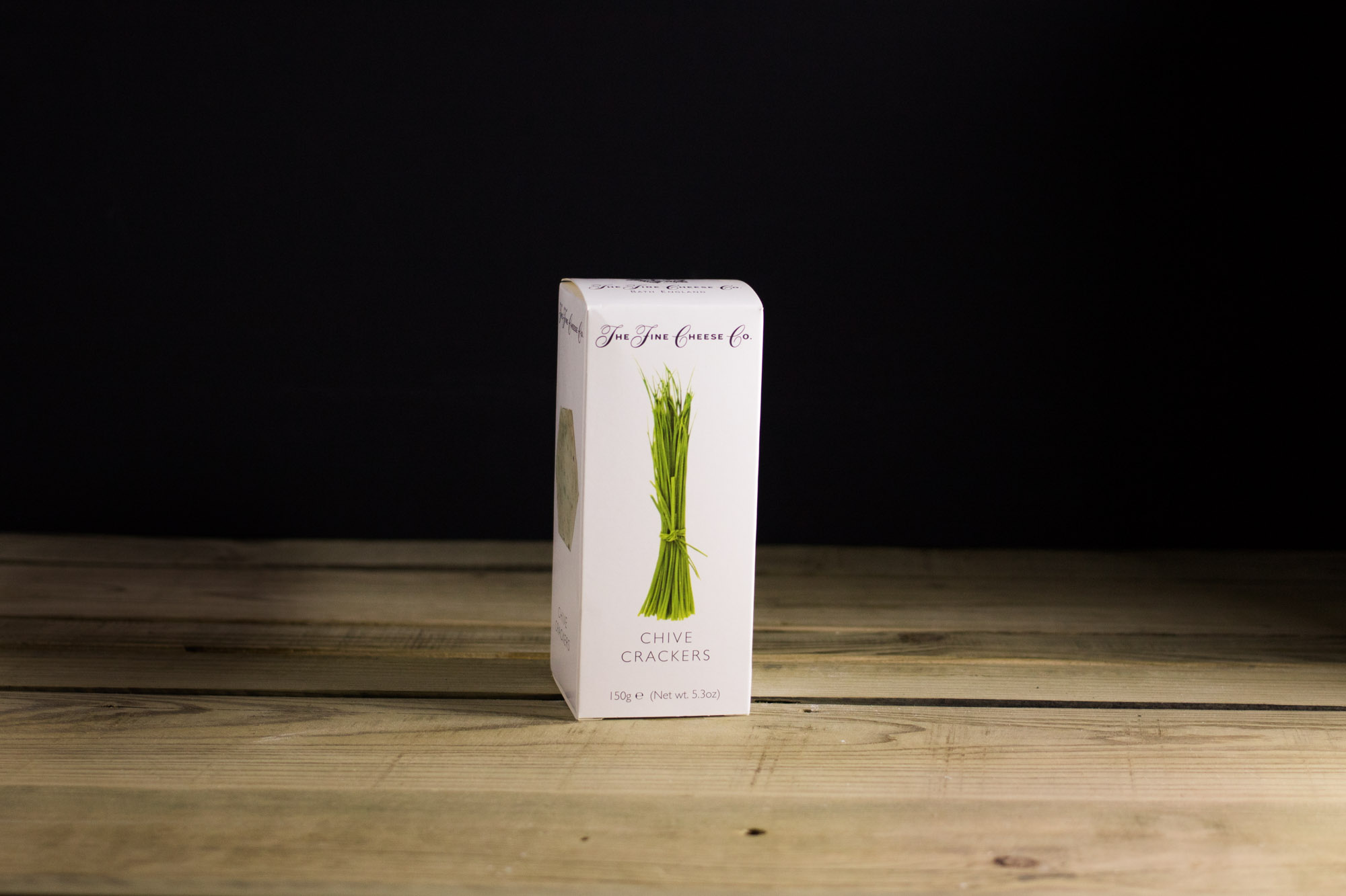 The Fine Cheese Company Chive Crackers