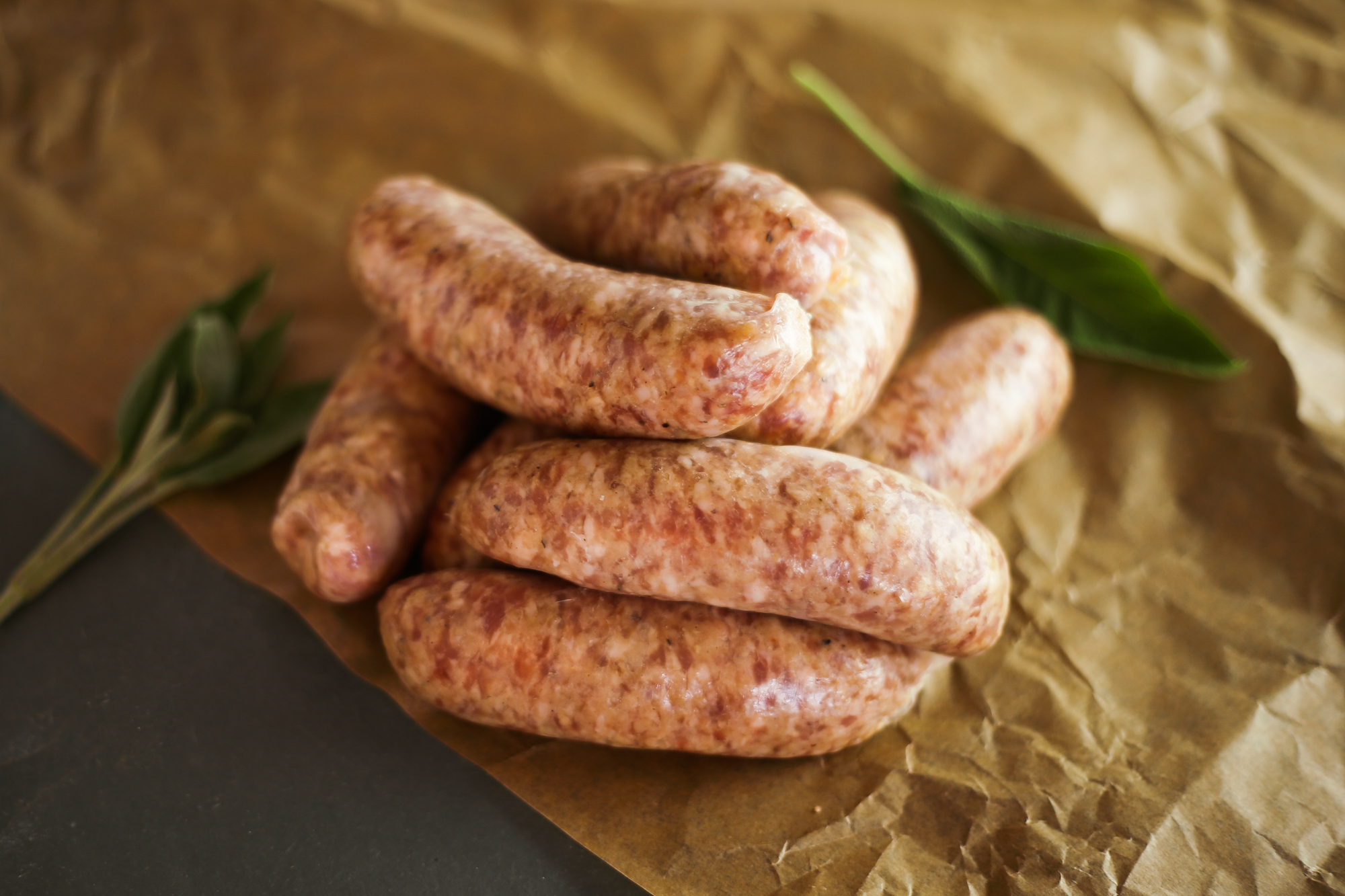 Traditional old english pork sausages (pack of 8)