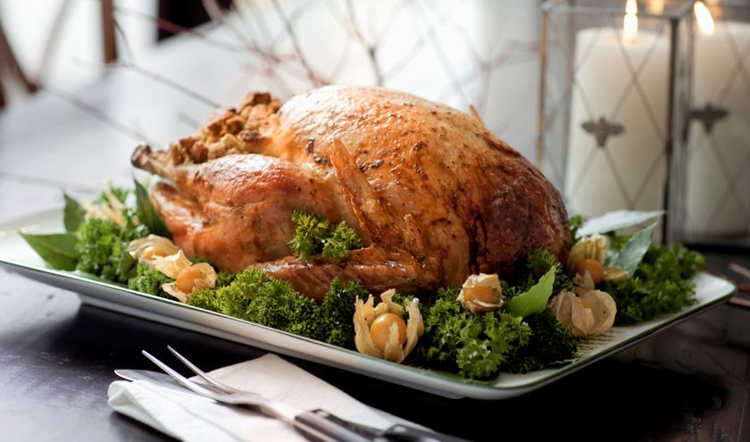 White barn reared whole turkey 7kg wild mushroom for How to cook a 7kg turkey