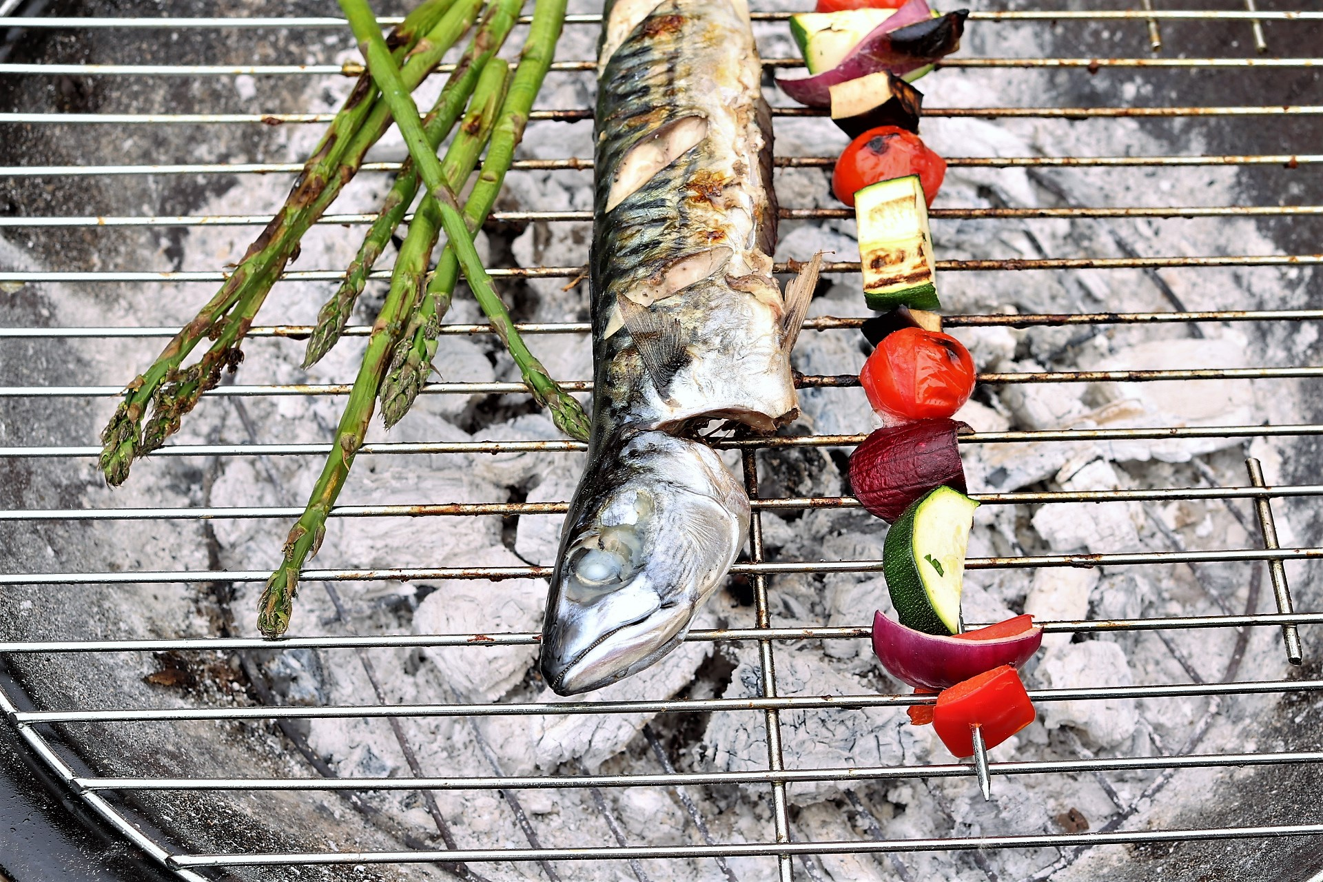 Simple Whole Barbecued Mackerel