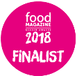 Food Magazine Reader Awards 2018 - Finalist