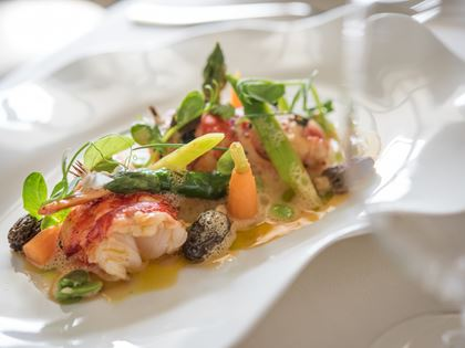 Fricassée of Lyme Bay Lobster Recipe image