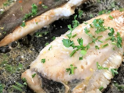 Pan-Fried Flatfish Fillets image