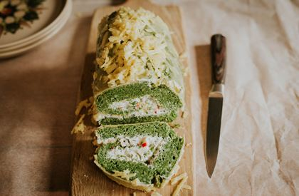 Spinach Roulade Recipe