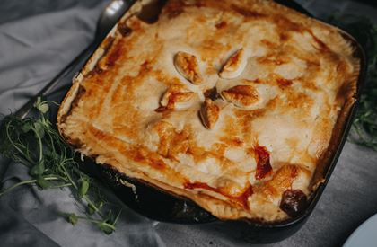 Lamb and Potato Pie Recipe