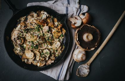 Garlic Mushrooms Recipe