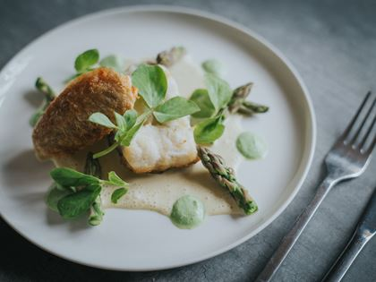 James Checkley's Pan-Fried Pollock Recipe image