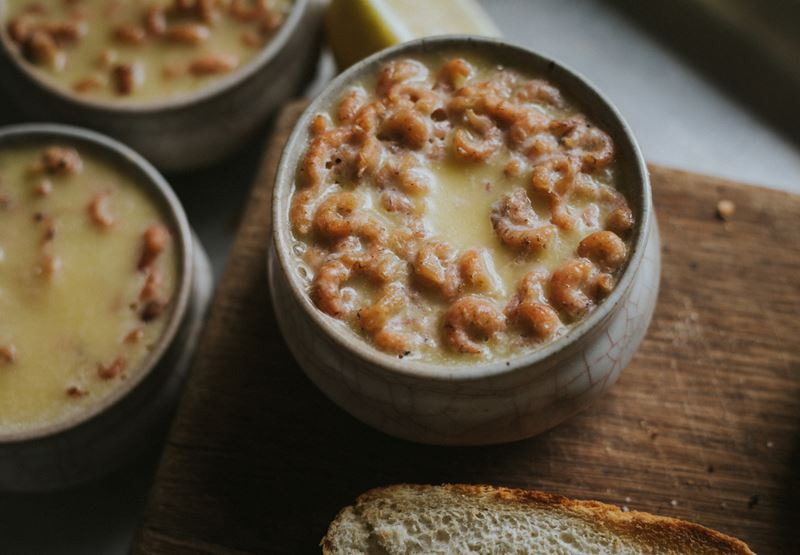 Potted Shrimps