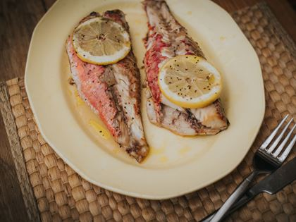 Barbecued Red Mullet image
