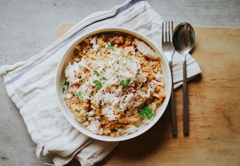 Crab Risotto Recipe