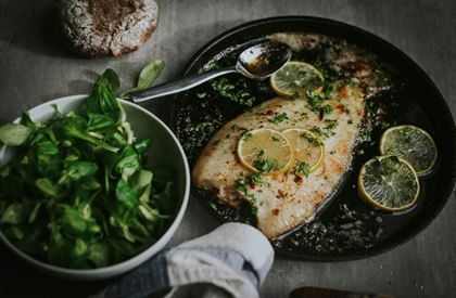Mitch Tonks's Baked Lemon Sole