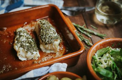 Rosemary & Lemon-Roast Monkfish