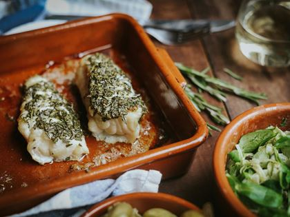 Rosemary & Lemon-Roast Monkfish image