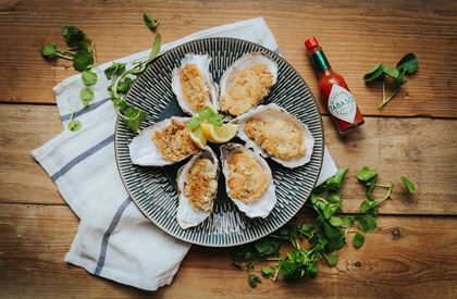 Pan-Fried Oysters Recipe