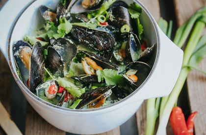 Mussels with Thai Spices Recipe