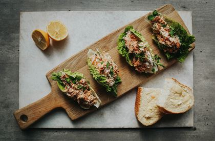Quick Lemony Crab Salad
